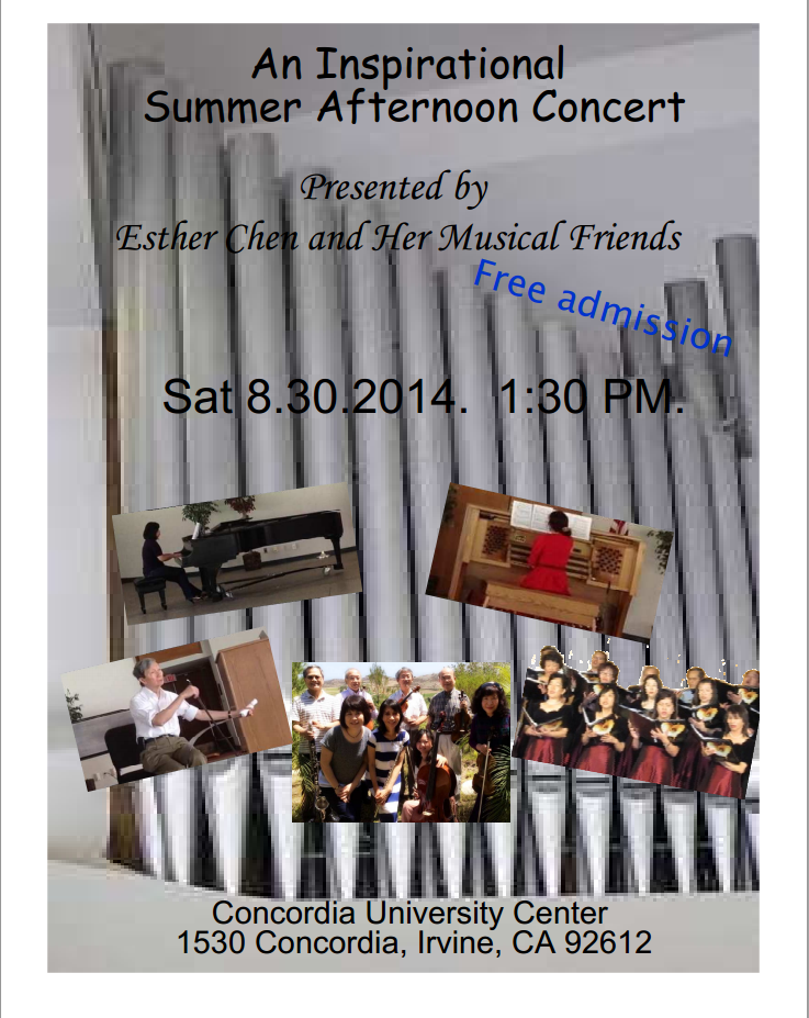 An Inspirational Concert with Organ
